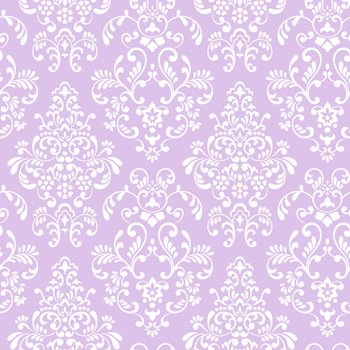KD1756 Just Kids Delicate Document Damask Wallpaper By York