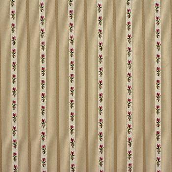 LA1269106 Band Box Stripe Linen By Laura Ashley