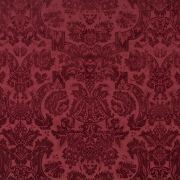Lfy29518f Grantham Velvet Damask Red By Ralph Lauren