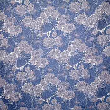 LOT005-BL01 Lotus Periwinkle by Pindler