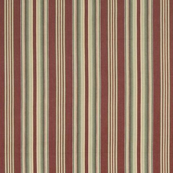Oastler Stripe Crimson by Kasmir