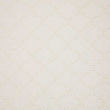 PIN033-WH01 Pindot Snow by Pindler