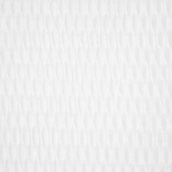 SQU007-WH01 Squiggle White by Pindler