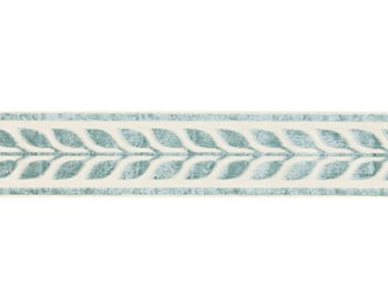 T3278-002 Vigne Velvet Tape Aquamarine by Scalamandre