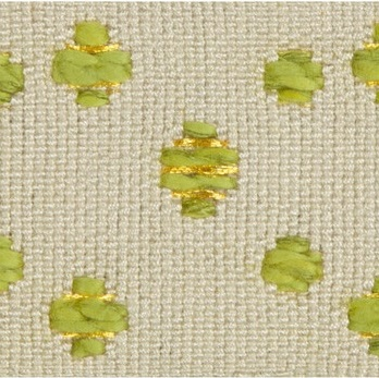 TL10160.163 Cosmos Linen/Citrus by Groundworks