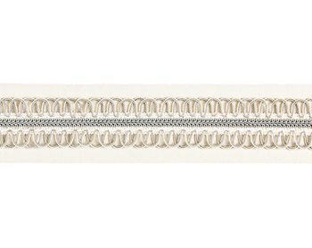 V1242-001 Colette Braided Tape Cloud by Scalamandre