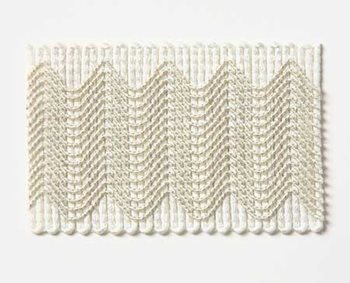 ZIN005-WH01 Zinnia Ivory by Pindler